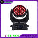 bewegliches Hauptlicht der Wäsche-36X10W des Summen-LED 4in1