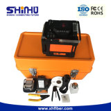 Shinho X86 Sm&mm 자동적인 FTTH 광섬유 접합 기계 광섬유 융해 접착구