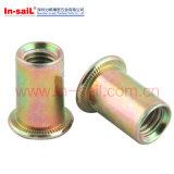 China-spezieller kundenspezifischer Gummi Isolierniet-Muttern