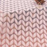 Merletto chimico del tessuto di maglia del ricamo di Solubal dell'acqua del merletto