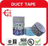 Сверхмощное упаковывая напечатанное клейкая лента для герметизации трубопроводов отопления и вентиляции ткани