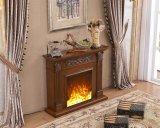 ホテルの家具の簡単なヨーロッパ人LEDはつける暖房の電気暖炉(321)を