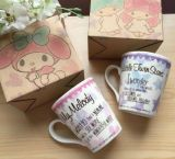 Nuove tazze di caffè di ceramica di disegno 12oz per il regalo di natale