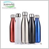Botella de agua de acero inoxidable para regalos promocionales