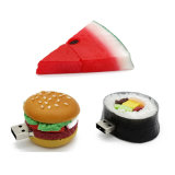 Movimentação personalizada PVC da pena do USB da movimentação do flash do USB do sushi do alimento