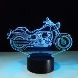 [3د] تصميم درّاجة ناريّة شكل ليل ضوء منزل زخرفة [كلور-شنجنغ] جوّ مصباح مع [أوسب] شاحنة