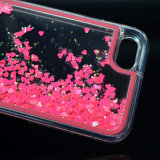 В форме сердечка жидкость преодоление зыбучих песков привели телефон чехол для iPhone 7