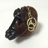 고릴라 작은 귀여운 견면 벨벳에 의하여 채워지는 연약한 주문 Keychain 장난감