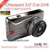 "Cheap 3.0 ""Full HD1080p coche móvil DVR con Stk 2581 CPU y 2.0 Mega Ov2720 CMOS Cámara Cámara Built-in G-Sensor, visión nocturna DVR-3003"