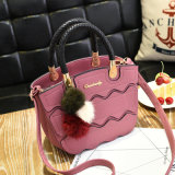 2017 сумок женщины PU Split соединения способа кожаный (BDY-1706014)