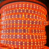 Línea tira multicolora del alto voltaje 5050 de Shenzhen sola de Dimmable LED
