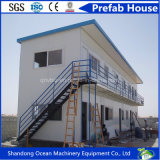 Casa móvil de la casa modular prefabricada moderna de lujo de la casa de la estructura de acero ligera