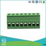 Ma2.5h5.0 Pluggable Blok van de Terminals van PCB 5.0mm de Grootte van de Draad van de Hoogte 2.5mm2