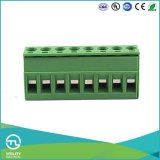 Ma2.5h5.0 Pluggable PCB 단말기 구획 5.0mm 피치 2.5mm2 철사 크기
