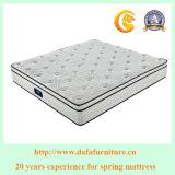 Colchão de mola de apoio para bobinas revestidas individualmente para móveis de cama