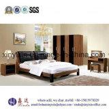 Moderne einfache doppeltes Bett-hölzerne Schlafzimmer-Möbel (SH-003#)