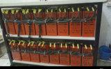 Tipo longo bateria terminal do gel da parte dianteira para Telecom/solar, FL12-100ah
