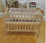 木製の赤ん坊のまぐさ桶/ベビーベッド