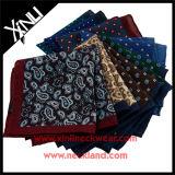 Moda masculina Custom Print Quadrado de bolso de lã