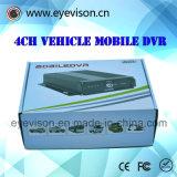 H. 264 vier-Kanaal Aantal In real time van het Kanaal van de Telefoon van de Auto het Mobiele DVR BR Audio$ + $ Auto In real time van de Opname van het Aantal 1d1 de CIF 128g Mobiele DVR