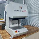 A boa reputação protege a máquina da marcação do laser da fibra da tampa para o metal