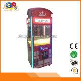 Machine de jeu de machine de griffe de grue de jouet d'arcade de technique de gosses à vendre des gosses