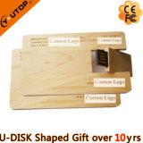 USB Pendrive выдвиженческих подарков мебели деревянный поворачивая на шарнирах (YT-3132)