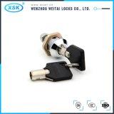 M18L18 아연 합금 안전한 상자 관 키를 가진 비상사태 캠 자물쇠