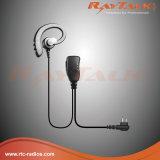 G-Forme Earhook avec Eartip en caoutchouc doux pour la radio bi-directionnelle