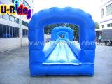 Длинный надувной слайд для аквапарка