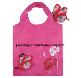 Faltbare Einkaufstasche mit Beutel 3D, Tiermarienkäfer-Art, den mehrfachverwendbaren, leichten, Lebensmittelgeschäft-Beuteln und handlichem, Geschenke, Förderung, Zubehör u. Dekoration