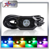 Accesorios para Jeep Wrangler, CREE Chip 9W LED Pod Luz Blanca Color LED Tail Domo Luz IP68 12V Interior LED