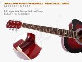 Aiersi 상표 38 인치 Cutway Lindenwood 체색 음향 기타