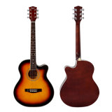 Тавро Aiersi гитара тела Cutway Lindenwood цвета 40 дюймов акустическая