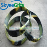 Qualität wirbelte Tinte gefüllter SilikonWristband