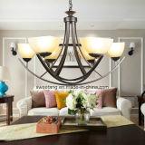Forma moderna com a lâmpada do candelabro do pendente do Ce para o restaurante