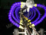 La pipe d'air d'acier inoxydable de souffleur d'araignée et la longueur de gicleur ont personnalisé