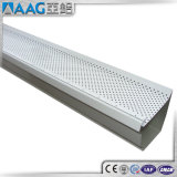 Perfil de alumínio para a calha da chuva