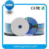 Capacidad registrable imprimible blanca 4.7GB, paquete de DVDR en rectángulos de torta