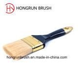 Деревянная щетка краски ручки (HYW0032)