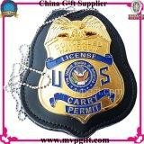 Подгонянный значок полиций для воинского подарка значка