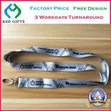 고품질 플라스틱 버클 및 금속 클립은 잠수함 또는 승화 방아끈을 염색한다
