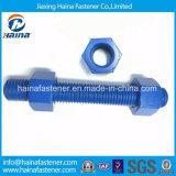 Fournisseur chinois DIN975 Tige filetée / boulon à vis avec écrou DIN976