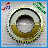 Engrenagem de transmissão de aço de usinagem CNC