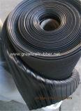 De brede Geribbelde RubberMat van de Vloer van het Blad Antislip Rubber, de RubberMat van de Bevloering
