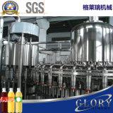 Fruchtsaft-Produktionszweig in den Flaschen