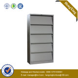 분말 코팅 강철 금속 선반 서류 캐비넷 (책장, 책꽂이) (HX-MF026)