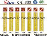 Cornisa del poliuretano de los moldeados de corona del moldeado de la cornisa de la PU para la decoración