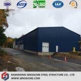 Construction en acier pour un entrepôt de structure moderne bien conçu