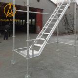 Escalas de paso de progresión y escaleras de acero del andamio para la construcción